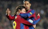 Messi gửi thông điệp đầy cảm xúc đến 'ảo thuật gia' Ronaldinho