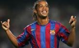 ĐH xuất sắc nhất của Ronaldinho: Vắng bóng R10, CR7 mất dạng