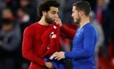 Hơn 130.000 CĐV chọn cái tên xuất sắc hơn giữa Eden Hazard và Mo Salah