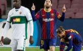 Lập cú đúp, Messi giờ đã vượt mặt Suarez