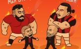 Cười té khói với loạt ảnh chế bốc thăm Europa League