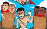 Cười té khói với loạt ảnh chế Chelsea hòa Man Utd