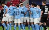 10 thống kê Man City 2-0 Gladbach: M.U sắp 'rớt đài'; Phil Foden quá bá đạo
