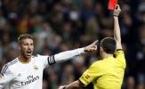 11 ngôi sao dính thẻ đỏ nhiều nhất thế kỷ 21: Ibrahimovic thứ 11, Ramos vô đối