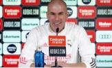 Zidane: 'Được dẫn dắt Real đã là một vận may...'