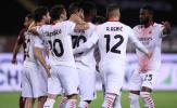 Hủy diệt 7-0, AC Milan tăng nhiệt cho cuộc đua top 4