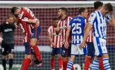 Thắng nhẹ, Atletico chạm 1 tay vào chức vô địch La Liga