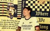 Arsenal công bố áo sân khách mới với biểu tượng cực chất