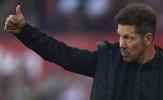 Atletico tiến gần chức vô địch, Simeone liền lên tiếng