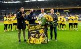 Sao Dortmund thiết lập kỷ lục trong ngày giải nghệ