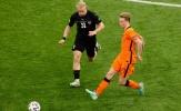 10 con số ấn tượng trận Hà Lan 2-0 Áo: Depay hay, De Jong 'làm hết'