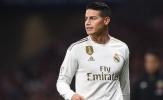 Real cân nhắc tái hợp James Rodriguez