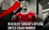 CHÍNH THỨC! Công bố số áo Sancho ở M.U, tất cả phải bất ngờ