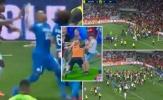 Bạo loạn kinh hoàng: CĐV Nice tràn xuống sân đánh Payet và cầu thủ Marseille