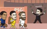 Cười té khói với loạt ảnh chế chuyển nhượng PSG