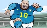 Cười té khói với loạt ảnh chế vòng loại World Cup