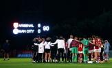 Arsenal thắng tưng bừng Spurs, đội nữ hủy diệt Man City 5-0 để lên đầu BXH