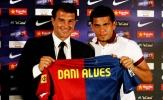 Dani Alves muốn trở lại thi đấu cho Barca