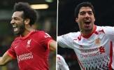 Salah vs Suarez: Vua Ai Cập dẫn trước