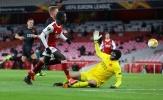 9 thống kê Arsenal 1-1 Slavia: Thảm họa phòng ngự, 'Cầu thủ 100' xuất hiện