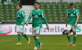 Werder Bremen rớt hạng sau 40 năm