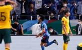 Thảm họa hậu vệ, Úc thua đau Nhật Bản
