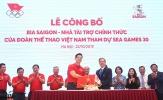 Đoàn thể thao Việt Nam nhận 'doping' cho SEA Games 30