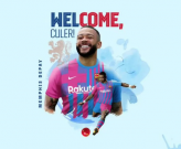 Memphis Depay đầu quân cho Barcelona