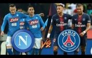 03h00 ngày 07/11, Napoli vs PSG: Chiến thắng là bắt buộc!