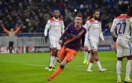 Rượt đuổi siêu kịch tính, Man City hòa hú vía trước Lyon
