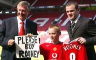 Rooney và 5 bản hợp đồng ấn tượng nhất ngày cuối phiên chợ Đông EPL