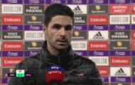 Arsenal thảm bại, Arteta lập tức chỉ ra 3 nguyên nhân
