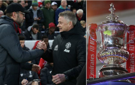CHÍNH THỨC! Bốc thăm FA Cup, Man United đại chiến cùng Liverpool