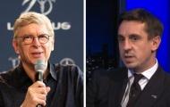 Neville chỉ ra sao trẻ Arsenal đủ sức lọt vào đội hình huyền thoại