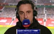 Neville nói thẳng 2 điều biến Cavani thành 'quái vật' hàng công MU
