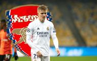 Arsenal sẽ phải trả Odegaard về Real Madrid vào mùa hè?