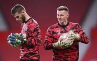 Khốc liệt, Man United ra quyết định sốc với De Gea và Henderson
