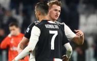 Ronaldo sẽ khiến De Ligt chia tay Juventus?