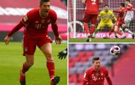 San bằng kỷ lục vĩ đại, Lewandowski giúp Bayern bay cao ở Bundesliga