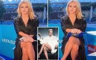 MC truyền hình Ý phủ nhận không mặc đồ lót trên sóng trực tiếp