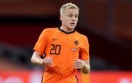 Van de Beek tiếp tục bị Van Gaal ngó lơ