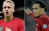 Sao Man United ca ngợi Van Dijk