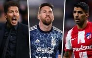 Simeone có ý định lôi kéo Messi về Atletico Madrid
