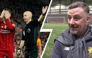 Trọng tài đến từ Manchester bị huyền thoại Liverpool chỉ trích kịch liệt