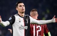 Đấu AC Milan, Sarri báo tin không vui về Ronaldo