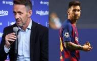 """XONG! """"Sếp lớn"""" Barca đáp trả đanh thép về tương lai của Messi"""
