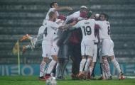 HLV AC Milan xúc động với chiến thắng sau 12 lượt đá penalty