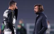 Juve bị chỉ trích vì phụ thuộc vào Ronaldo, Pirlo vẫn 'nói cứng'