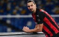 Ibrahimovic nghỉ thi đấu hết năm, AC Milan 'toang' mạnh