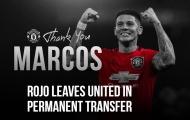 CHÍNH THỨC: Man Utd tiễn Marcos Rojo đi về nhà